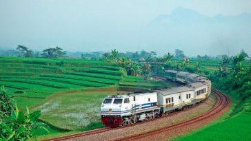 tiket kereta api Surabaya Bandung Ekonomi